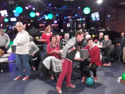 Soirée bowling à Fougères