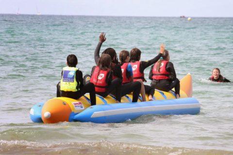 Balade en bouée tractée – Skibus à St Malo