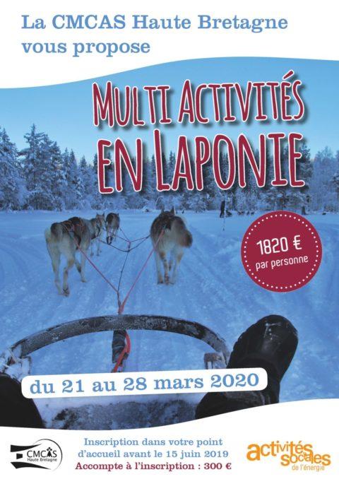 Séjour multi activités en Laponie
