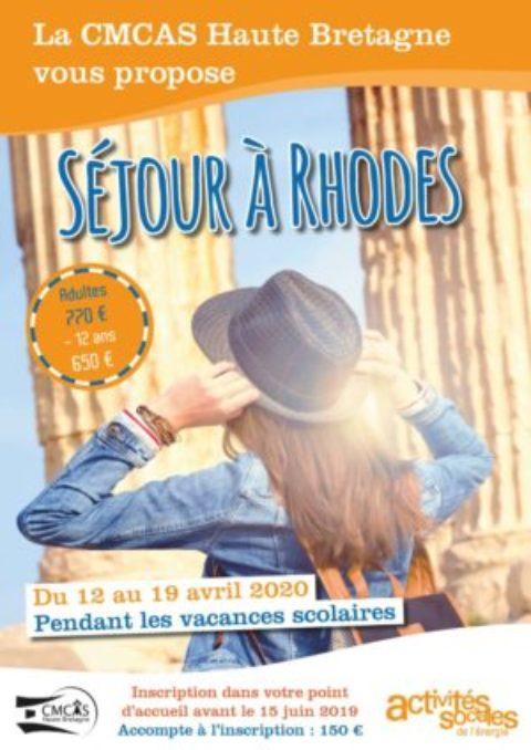 Séjour à Rhodes