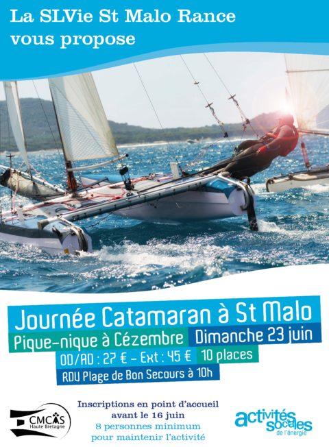 Journée Catamaran à St Malo